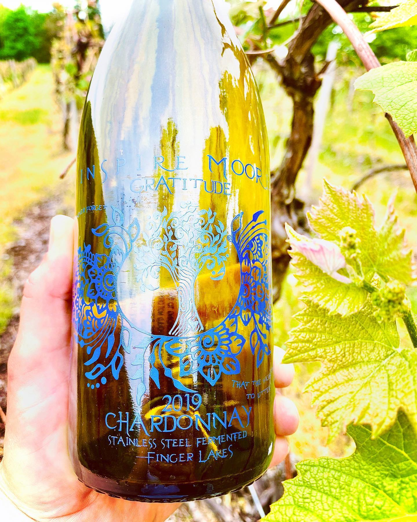 Chardonnay Wine, Inspire Moore Winery