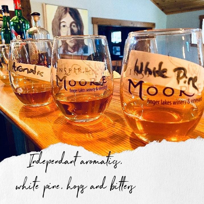 Inspire Moore Wine Tasting