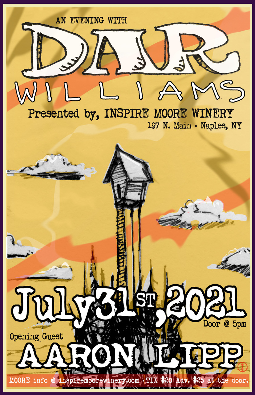 Dar Williams at Inspire Moore Winwery
